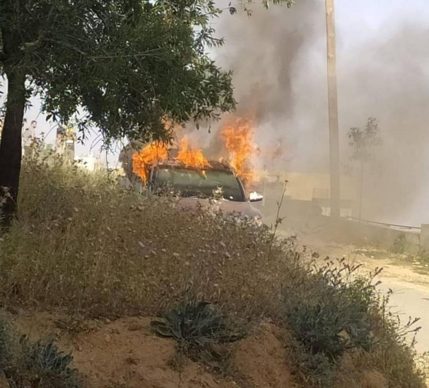 القناة 12 العبرية تزعم: السيارة التي عثر عليها قرب عقربة تعود لشخص ينتمي لحماس