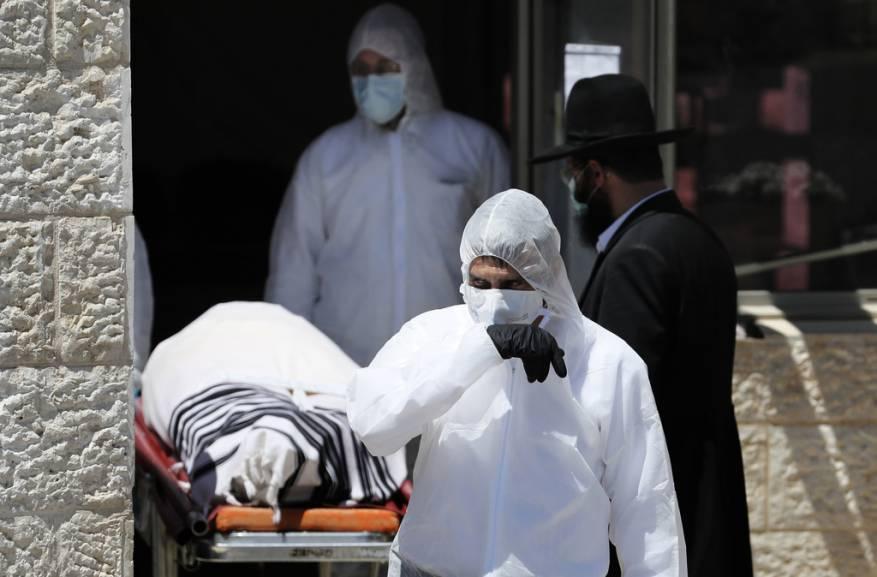 حصيلة الكورونا ترتفع لدى الاحتلال.. 172 حالة وفاة والإصابات 13362
