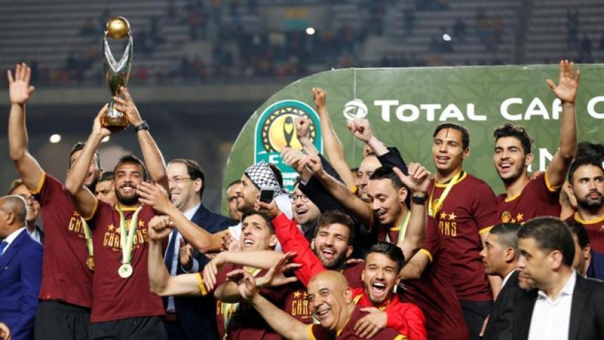 الاتحاد الأفريقي يعتمد فوز الترجي التونسي بلقب دوري الأبطال