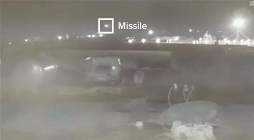 فيديو.. مقطع جديد يظهر إصابة الطائرة الأوكرانية بصاروخين إيرانيين
