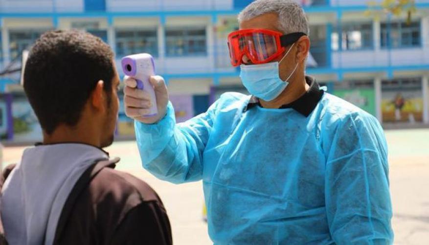 غزة: 7حالات وفاة و 404 إصابة جديدة بكورونا
