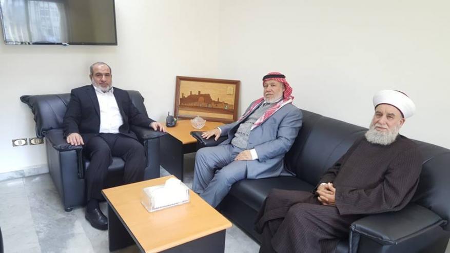 رابطة علماء فلسطين تلتقي بالأمين العام للجماعة الإسلامية في لبنان