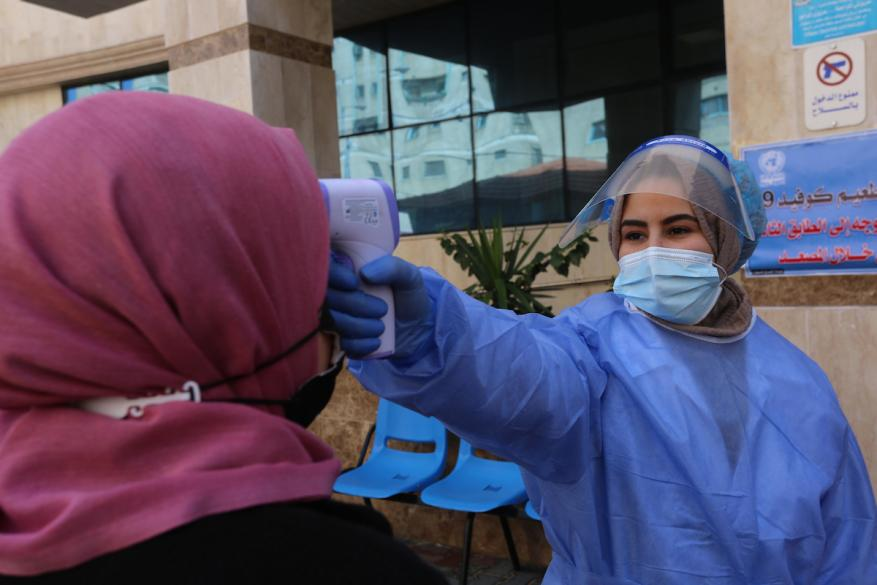 الصحة بغزة: حالة وفاة و84 إصابة جديدة بفيروس كورونا و202 حالة تعافِ