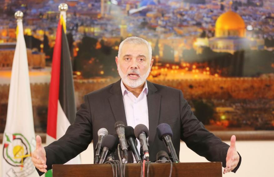 هنية: نرفض خطة الضم وسنواجهها ونعمل على إفشالها مع أبناء شعبنا وأمتنا