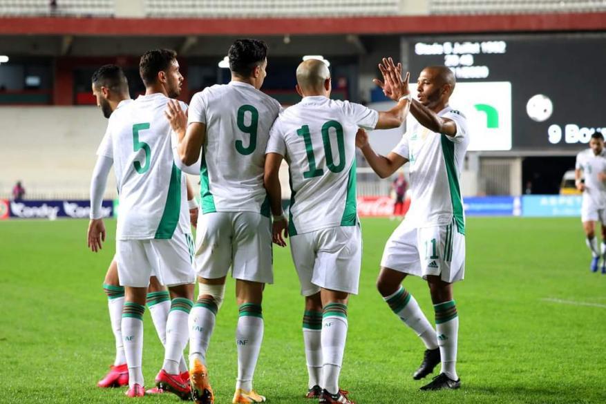 المنتخب الجزائري يبلغ نهائيات كأس أمم إفريقيا