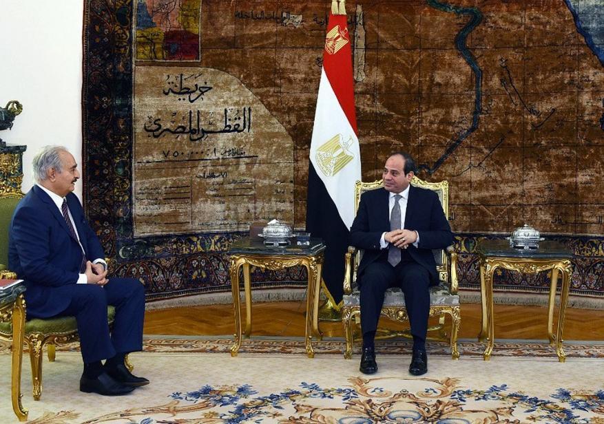 السيسي يلتقي حفتر في القاهرة