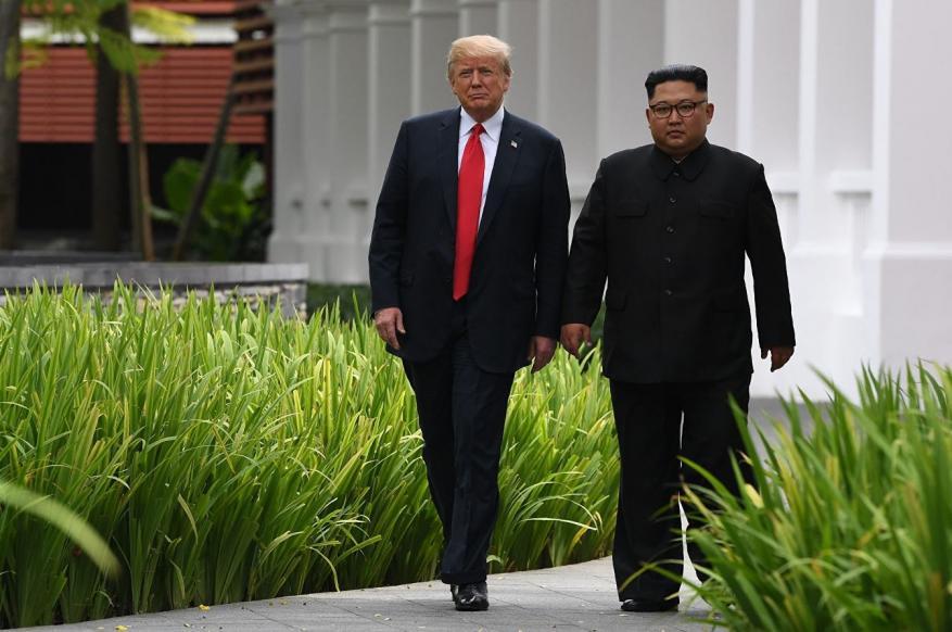 """ترامب: وصلتني """"رسالة رائعة"""" من كيم ولقاؤنا قريب"""