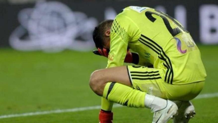 حارس المصري يعلن اعتزاله كرة القدم على الهواء بسبب كورونا