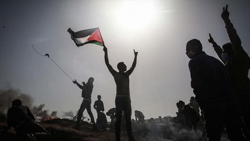 """غزة تستعد لجمعة """"لا تفاوض لا صلح لا اعتراف بالكيان"""" من مسيرات العودة"""