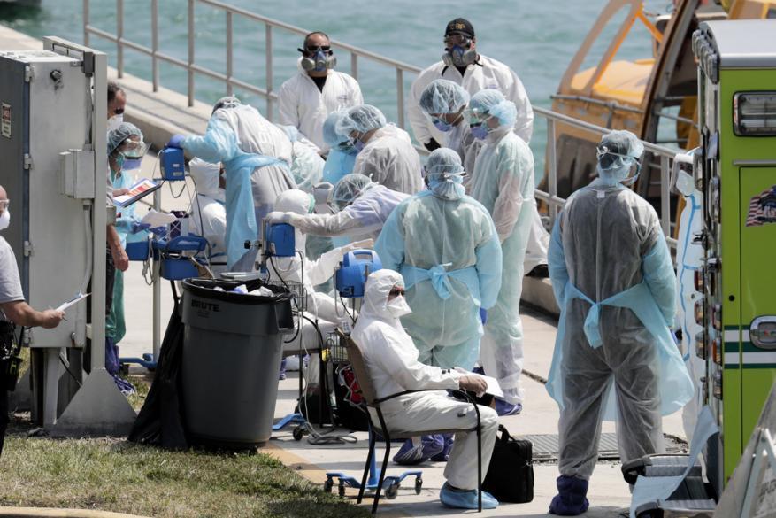 حالات الإصابة بفيروس كورونا في الولايات المتحدة تتجاوز 75 ألف شخص