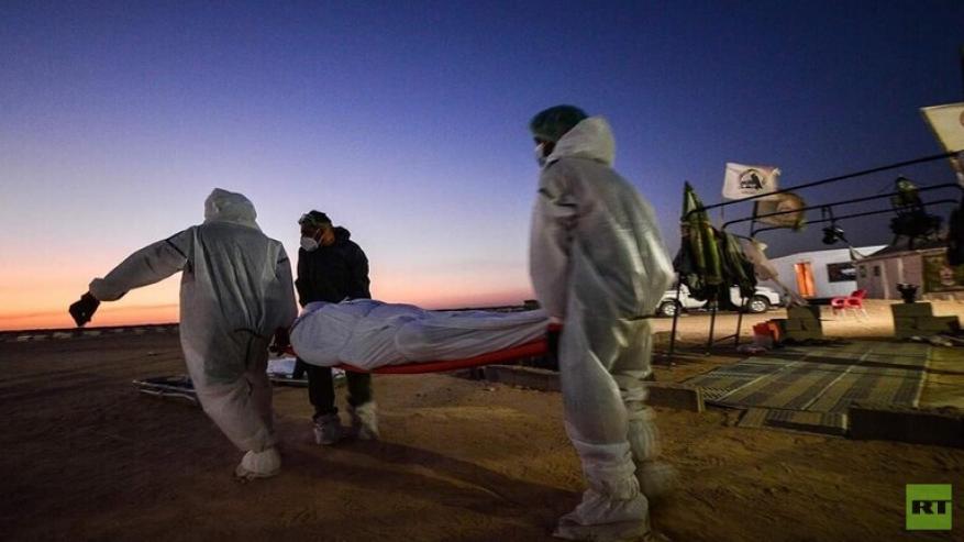 العراق.. دفن 73 جثة لمتوفين بكورونا خلال يوم واحد