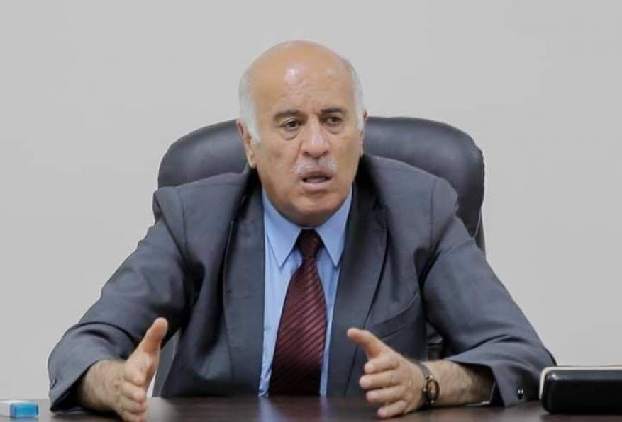 الرجوب: لن نجمد الاتصالات مع حماس ولن نغير مسار المضي بإنهاء الانقسام.