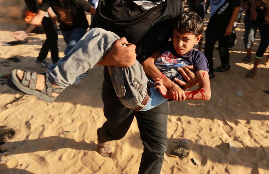 منظمة حقوقية: الاحتلال تسعى لتحويل أطفال فلسطين لمعاقين