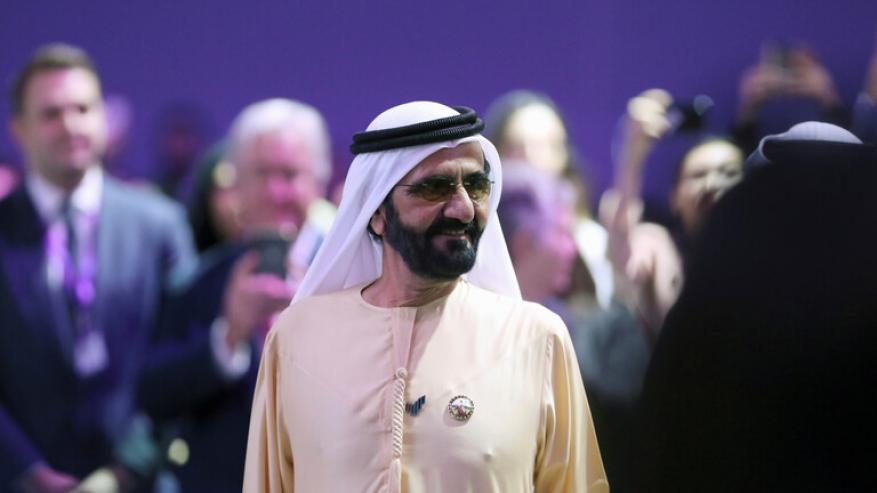 حاكم دبي يوجه رسالة لزوجته.. ماذا قال فيها؟