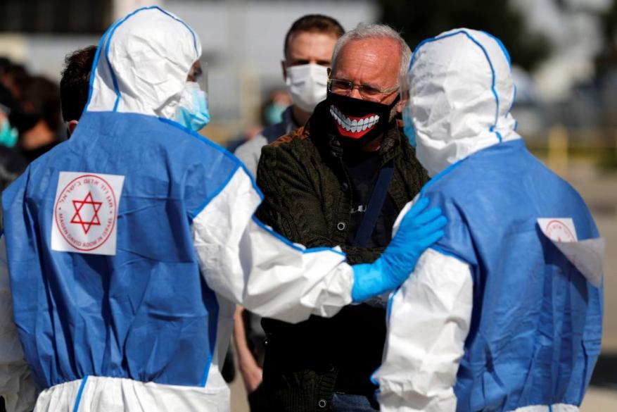 الاحتلال يُسجل نحو 2000 إصابة بفيروس كورونا خلال 24 ساعة و21661 بأسبوعين
