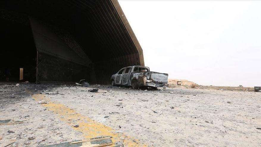 الجيش الليبي يدمر منظومة دفاعية روسية سادسة
