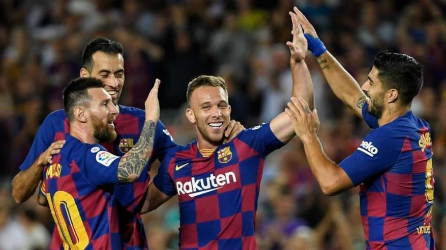 برشلونة أكثر أندية أوروبا تسجيلا للأهداف في ملعبه