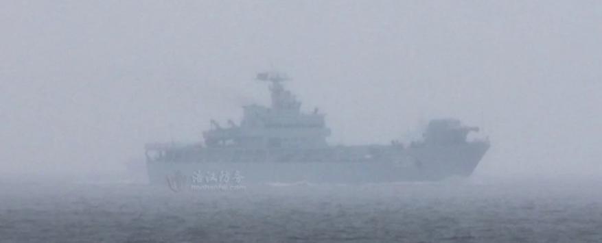 ثورة عسكرية جديدة.. سفينة حربية صينية ظهرت بمدفع كهرومغنطيسي!