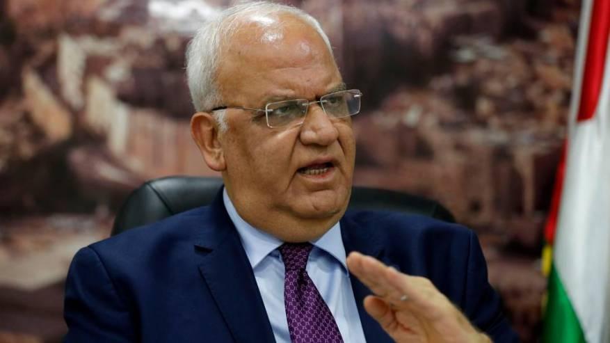 إصابة أمين سر اللجنة التنفيذية لمنظمة التحرير صائب عريقات بفيروس كورونا