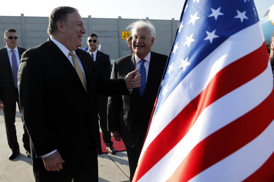 """وفد أمريكي يغادر """"إسرائيل"""" بعد مشاورات حول """"الضم"""" وترجيح تأجيل الإعلان"""