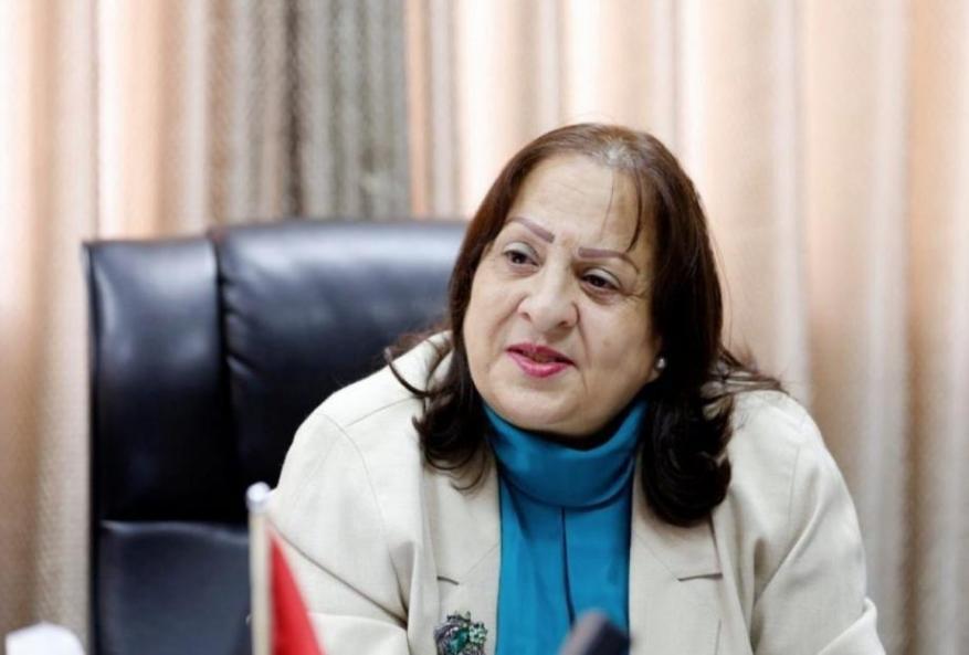 وزيرة الصحة بحكومة رام الله: انخفاض أعداد الإصابات بكورونا يعود لعطل في جهاز الفحص