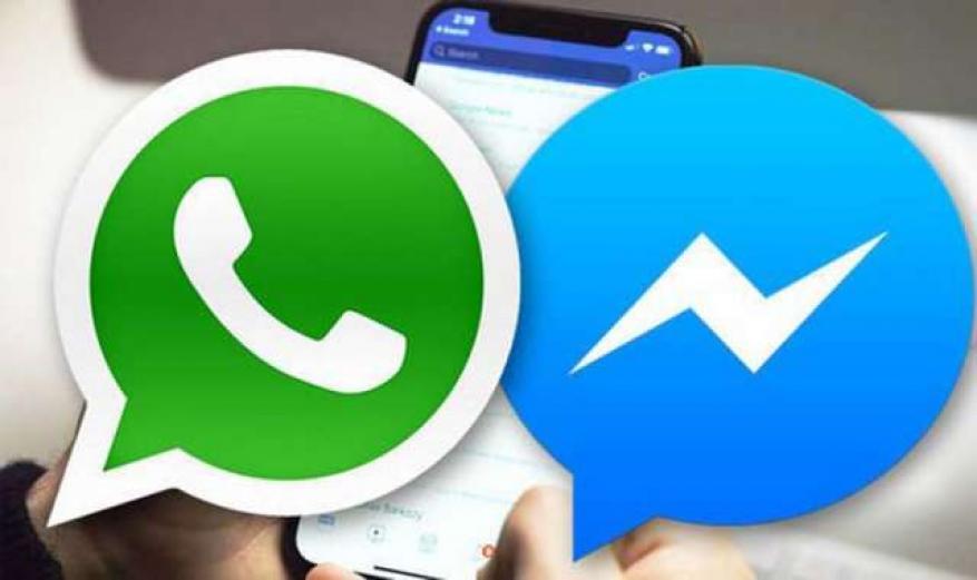 """تقنية سرية تتيح لـ""""فيسبوك"""" إمكانية دمج تطبيقي """"ماسنجر"""" و""""واتسآب"""""""