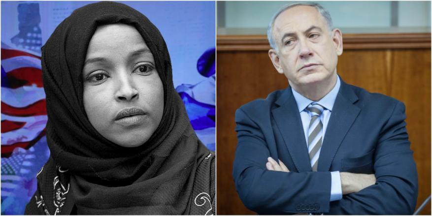 إلهان عمر تفند تصريحات نتنياهو حول برنامج زيارتها إلى فلسطين