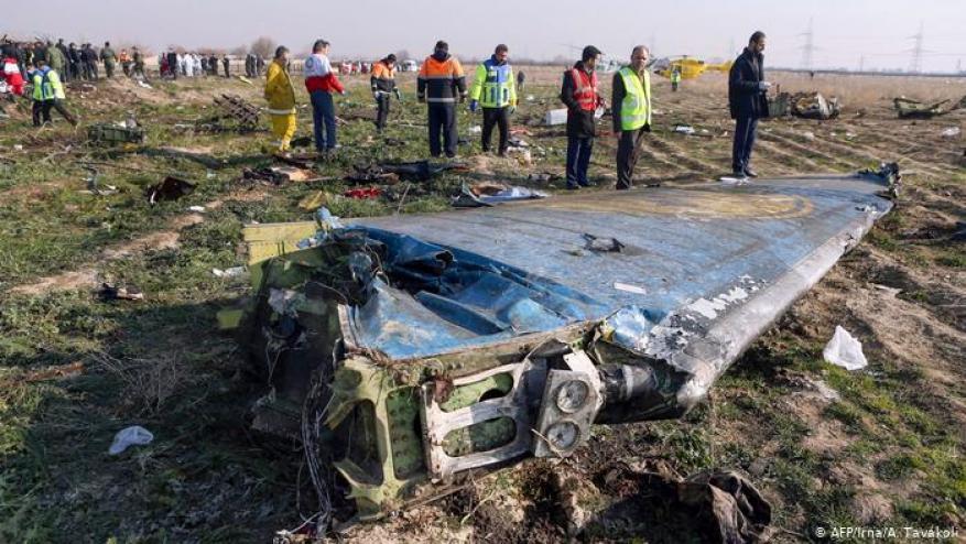 رسميًا.. إيران تعلن سبب سقوط الطائرة الأوكرانية