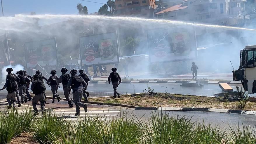 الأورومتوسطي: قمع الاحتلال لاحتجاجات أم الفحم يشرعن جرائم القتل والعنف المتصاعد