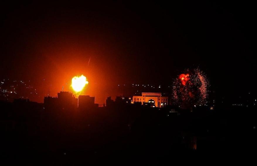 إصابات 8 مواطنين جراء التصعيد الإسرائيلي على القطاع