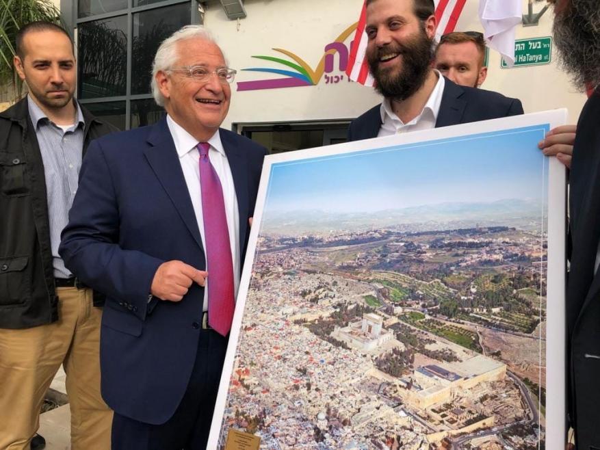 حماس: تصريحات فريدمان حول الضفة استهداف لمكونات القضية الفلسطينية