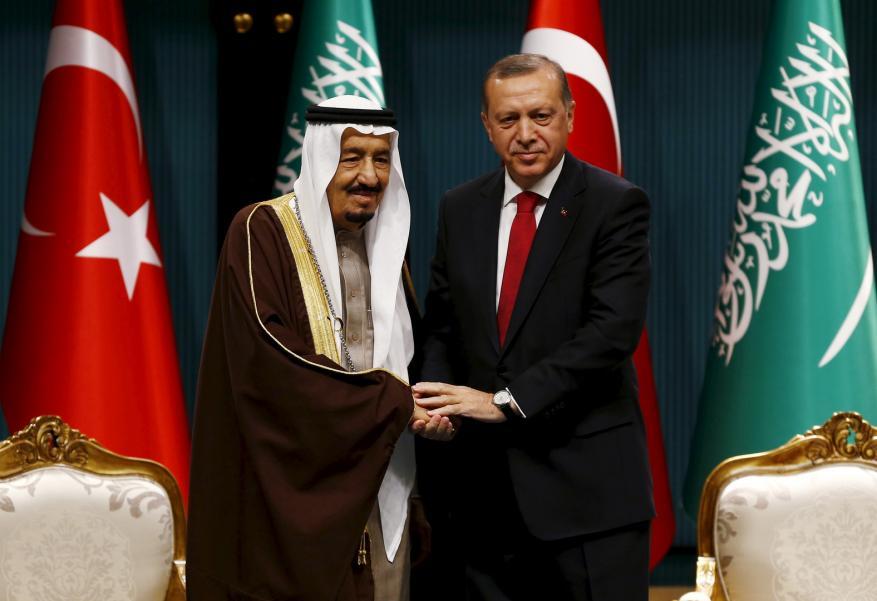 أردوغان يجري اتصالاً هاتفياً بالعاهل السعودي.. ماذا دار بينهما؟