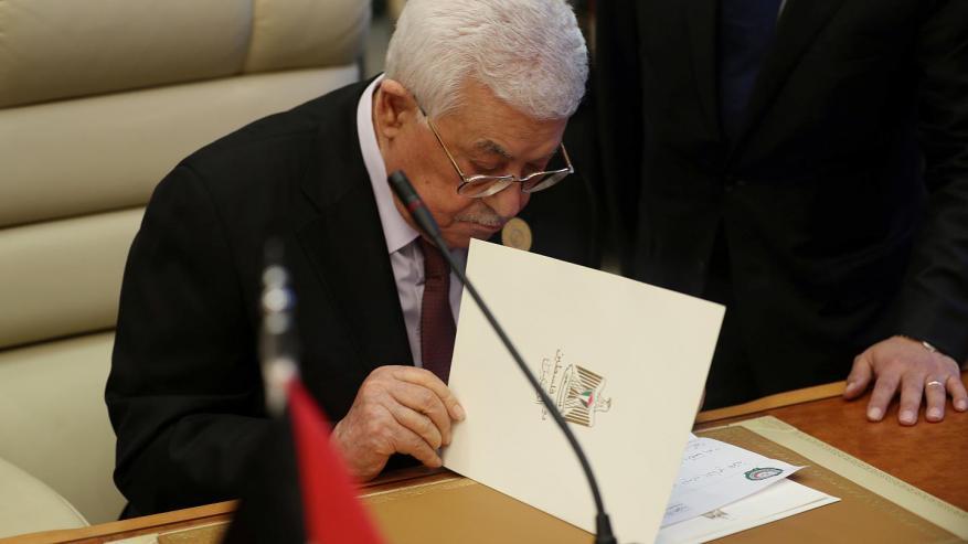 """منظمات أهلية وحقوقية تطالب عباس بإلغاء قرارات """"تقوض استقلال القضاء"""""""