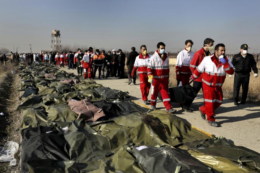 """بومبيو يبدي رأيه بحادث """"تحطم الطائرة الأوكرانية في إيران"""""""