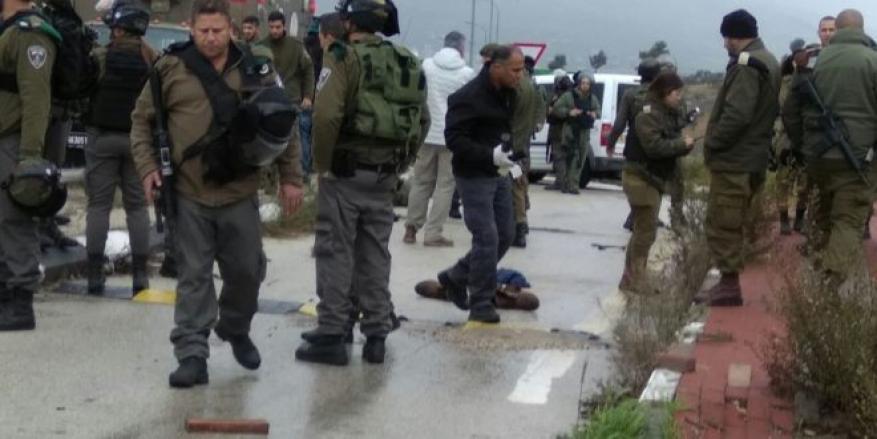 اعتقال فلسطينية بعد إطلاق النار عليها جنوب نابلس