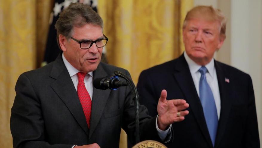 ورد اسمه في إجراءات محاكمة ترامب.. استقالة وزير الطاقة الأميركي