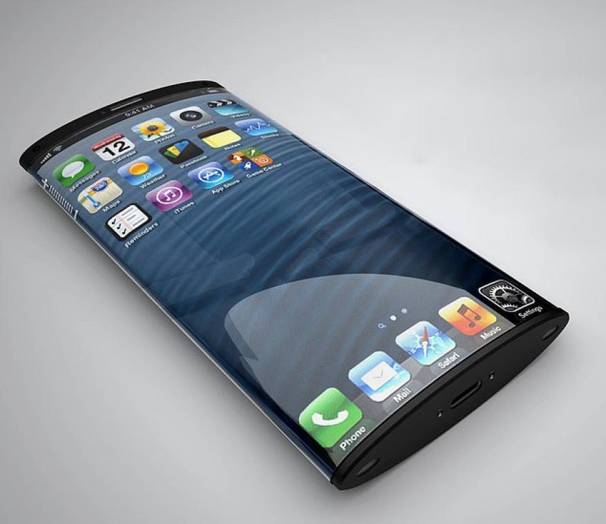 """تصميم غريب لآيفون """"المستقبل"""" بشاشة ملتفة حول الهاتف!"""