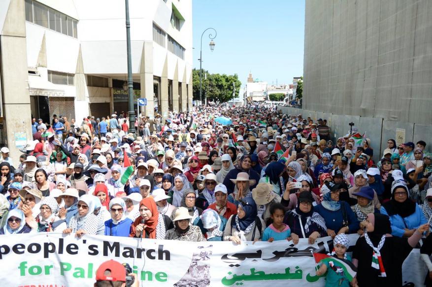 حزب العدالة والتنمية المغربي: الشعب المغربي يُجمع على رفض صفقة القرن وتمسكه بالقضية الفلسطينية