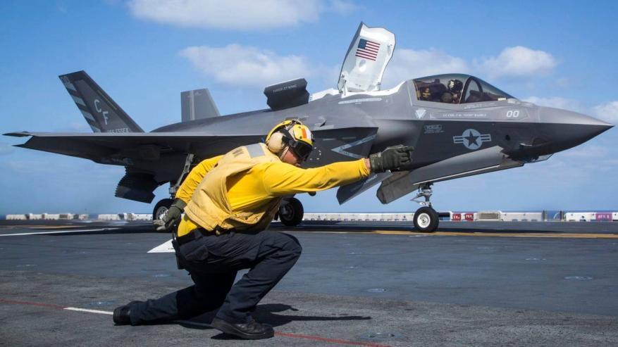 الحادثة الأولى من نوعها على مدار تاريخها.. تحطم طائرة F-35