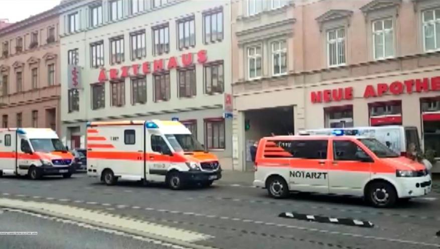مقتل شخصين بإطلاق نار أمام معبد يهودي في ألمانيا