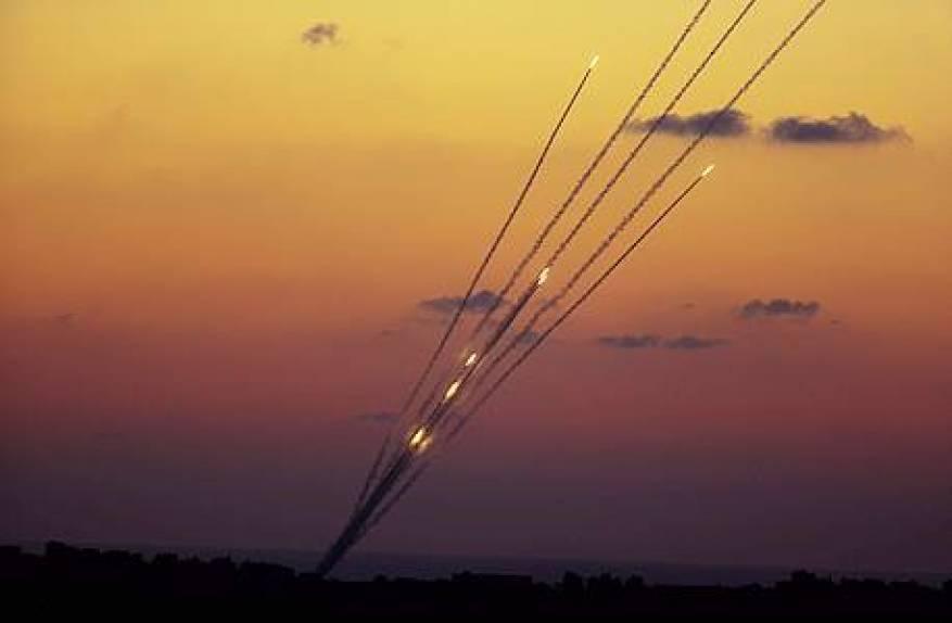 صاروخان من غزة نحو مستوطنات الغلاف