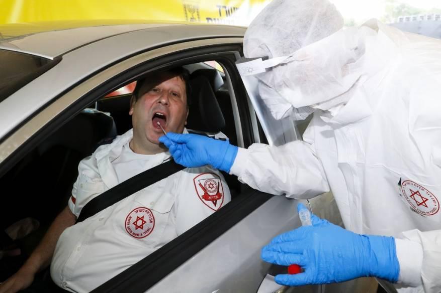 الاحتلال يعلن ارتفاع عدد المصابين بفيروس كورونا الى 2495