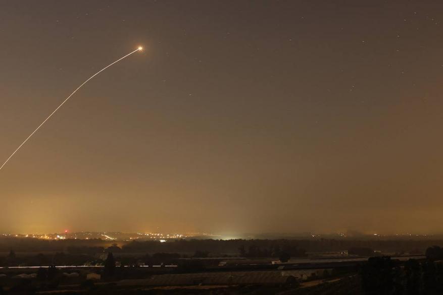 """صاروخان من غزة نحو """"تل أبيب"""""""