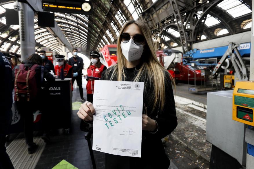"""بدء تشغيل قطارات إيطالية عالية السرعة """"خالية من كورونا"""""""