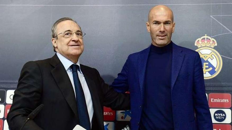 زيدان يعود إلى مدريد رسمياً