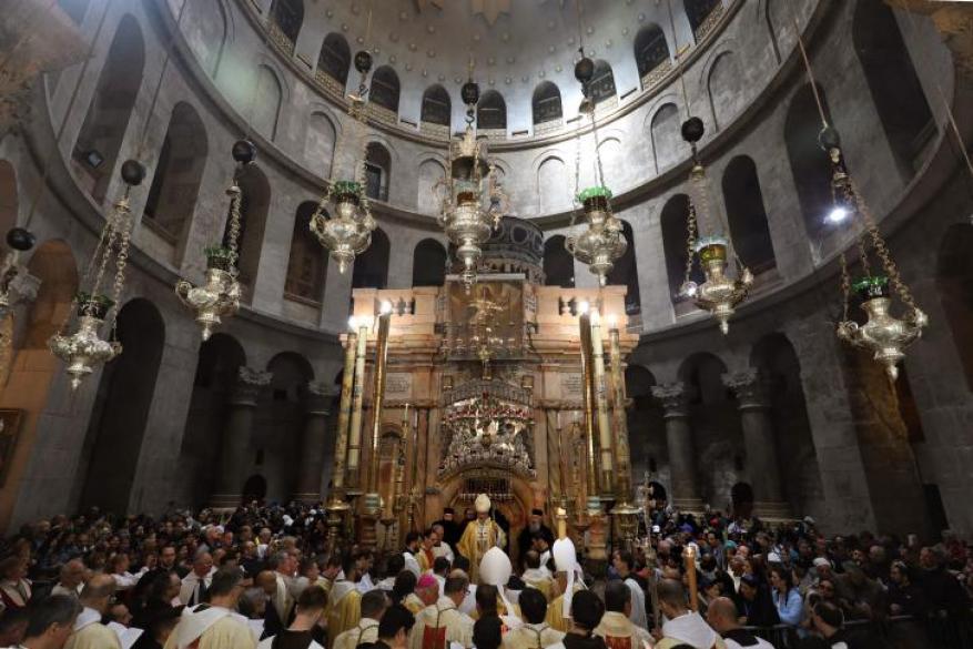 عيد الفصح في الأرض المقدسة