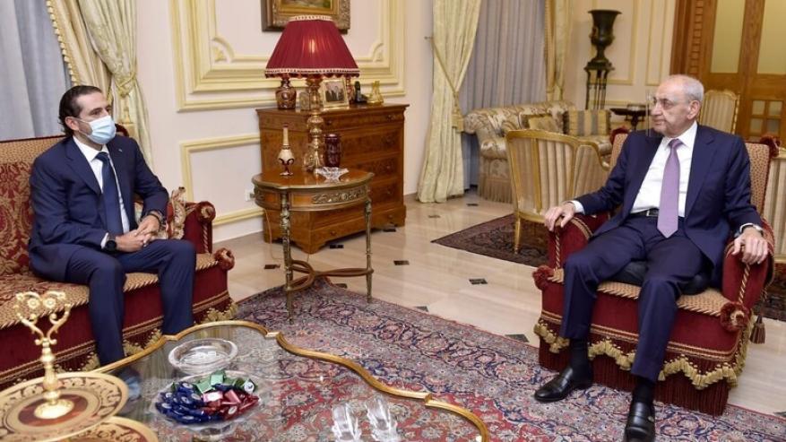 الحريري: بري موافق على البنود الإصلاحية بالمبادرة الفرنسية وهذا مطمئن