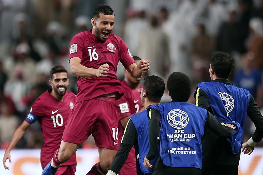 """من ملعب """"بن زايد"""".. قطر تقهر الإمارات برباعية وتبلغ النهائي الآسيوي"""