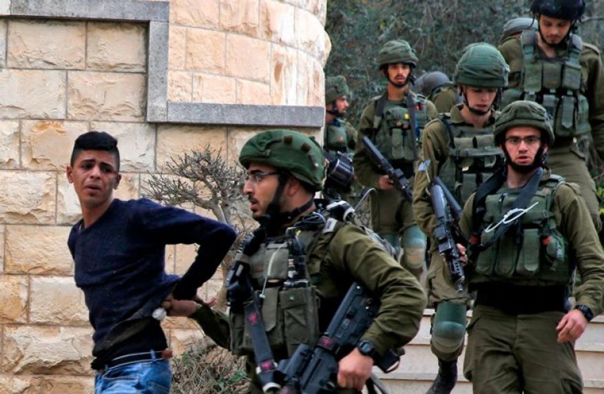 الاحتلال يشن حملة اعتقالات في الضفة طالت 33 مواطناً بينهم 18 من يعبد