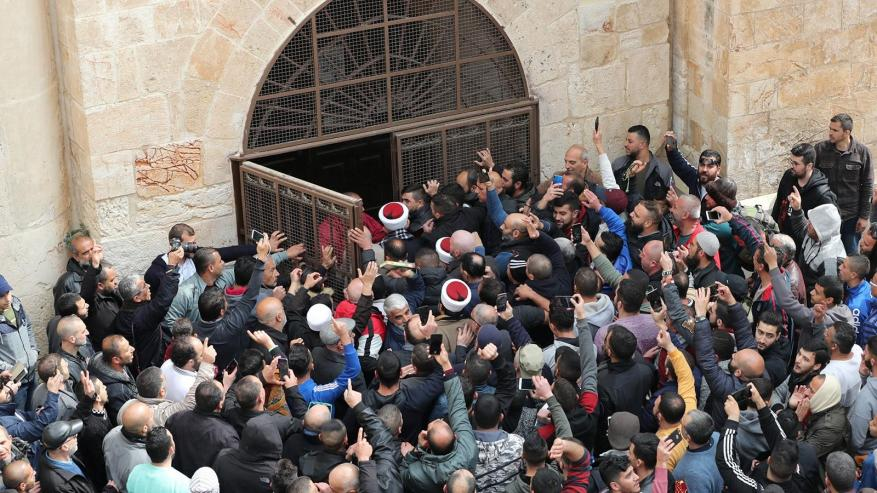 ادعيس: قرار محكمة الاحتلال اغلاق باب الرحمة غير قانوني ومرفوض قطعا